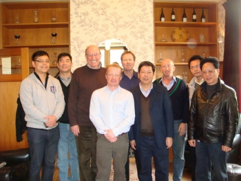 Recent Trade delegation from Ningbo, China, visting Chard Farm