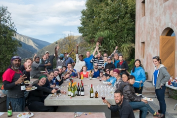 Harvest party Chard 2015