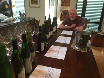 Alan Brady and 1987 wines